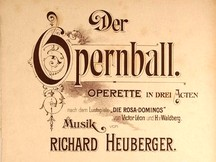 Heuberger, Ouverture from the operetta